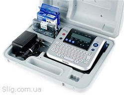 Принтер Brother P-Touch PT-9700PCR (PT1280VPR1) (монохромный,  180 dpi,  Лента: TZ/ TZE (6 /  9 /  12 мм))